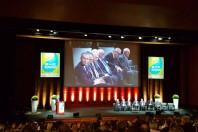 François de Rugy face aux 7 présidents des comités de bassin.