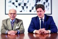 Bernard Cazeneuve et Vincent Brenot au cabinet  AUGUST DEBOUZY