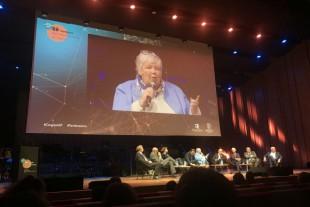 Jacqueline Gourault, au Congrès de l'ADF, à Rennes, le 9 novembre 2018.