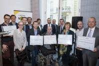 Les lauréats des Trophées de l'open data pour les territoires, le 15 novembre 2018