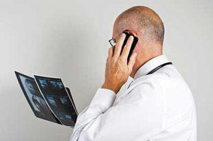 médecin radio hôpital