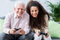 console jeux senior jeune