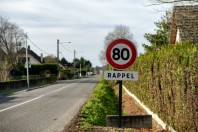Route 80 km limitation vitesse