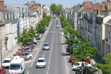 3 - vue aérienne du boulevard de Châteaudun