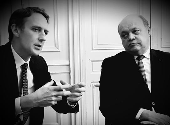 Arnaud de Belenet et Jacques Savatier