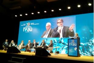 Séance plénière du salon CGLE 2019, à Rennes.