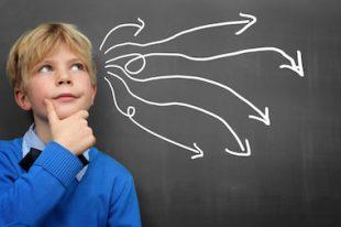 enfant réflexion décision