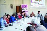 Les membres du groupement d'intérêt public Gers solidaire, réunis lors de leur assemblée générale consultative le 11 mars 2019.