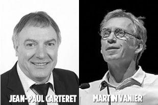 Jean-Paul Carteret - Martin Vanier