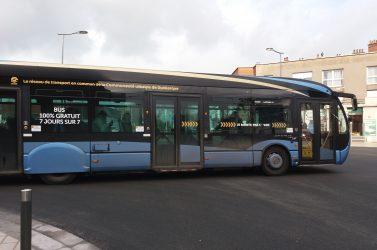 Bus gratuit à Dunkerque