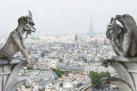 Les gargouilles de Notre-Dame de Paris