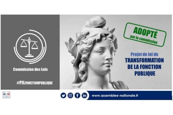 1af1b58e04c Projet de loi fonction publique   les députés en communion avec le  gouvernement