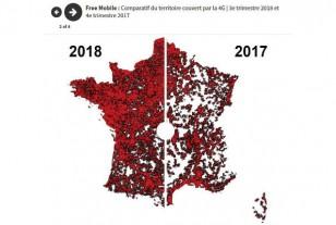 En cartes et en graphiques : comment avance la couverture mobile en 4G en France ? (1/2)
