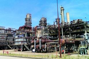 l'ancienne raffinerie Petroplus lors de la reprise