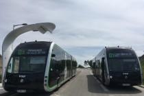 Inauguration du réseau de BHNS à Amiens