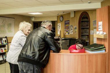 Maison de services au public.