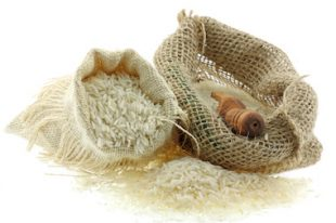 riz basmati fond blanc commerce équitable