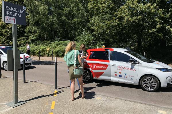 Des Renault Zoe autonomes testées sur le territoire de Rouen Métropole.
