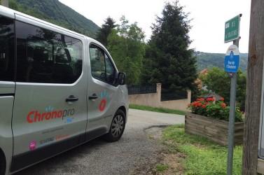 Le projet Chronopro en Isère