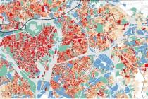 Seul un diagnostic permet d'évaluer l'intensité des îlots de chaleur sur son territoire. Lille métropole a fait réaliser une campagne de mesure aérienne sur 80 kilomètres carrés.