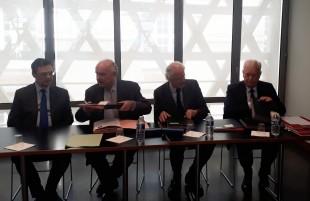 Le président du Mémorial de la Shoah a signé une convention avec l'ADF et les Départements de Seine-et-Marne et des Hauts-de-Seine.