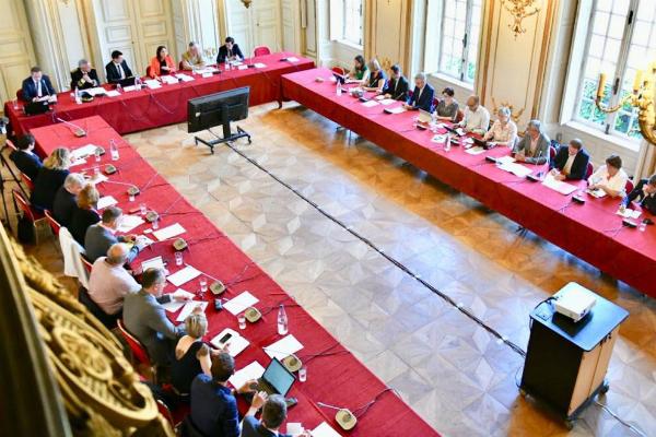 Le premier comité de pilotage s'est tenu le 19 juin à Strasbourg.