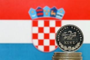 Croatie kuna drapeau