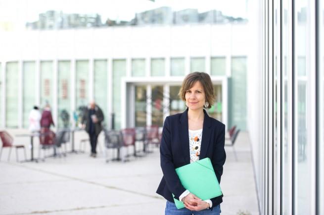 Charlotte Ciubucciu, DRH mutualisée de la Ville de Caen, du CCAS de Caen et de la Communauté Urbaine de Caen la Mer.