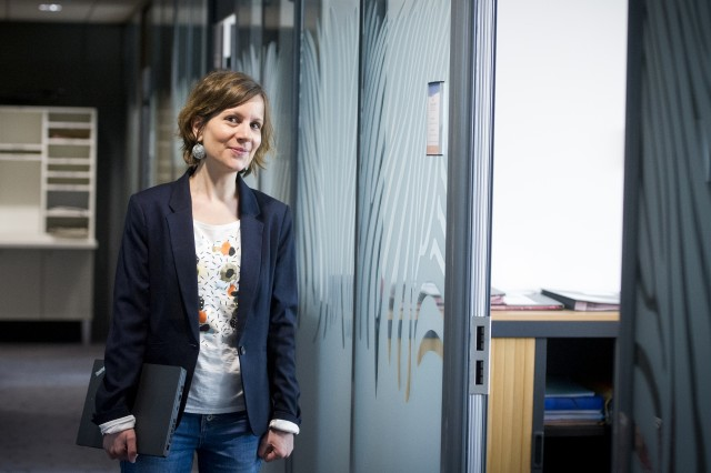 Charlotte Ciubucciu, DRH mutualisée de la Ville de Caen, du CCAS de Caen et de la Communauté Urbaine de Caen la Mer