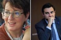 Marietta Karamanli et Benoît Simian