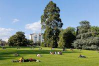 Le Parc du Thabor en été.