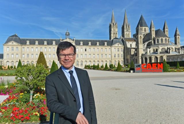 -Christophe Bellec, Directeur général des services de la Ville de Caen, du CCAS de Caen et de la Communauté urbaine Caen la mer