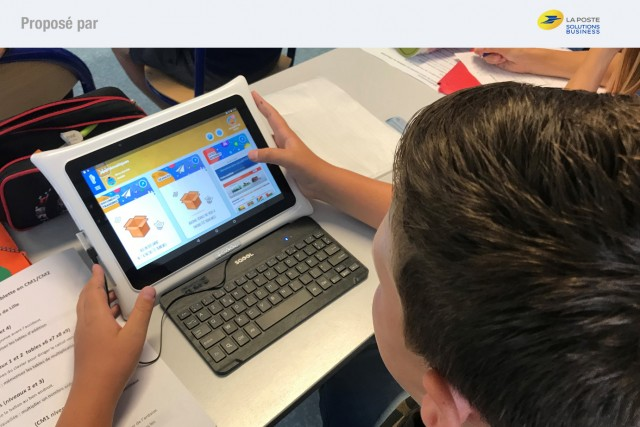 © La Poste Pour les élèves, les bénéfices pédagogiques du numérique.