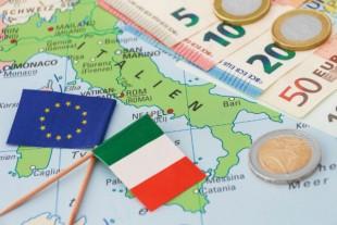 Italie drapeau euro