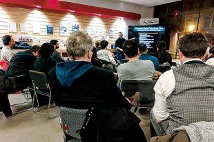 L'Open data book club de Toronto.