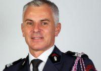 pompiers colonel Gregory Allione _ President de la FNSPF
