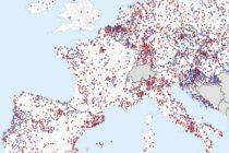 Nombre de collectivité ayant touché une subvention WiFi4EU depuis 2018 : 6 200, dont 496 françaises