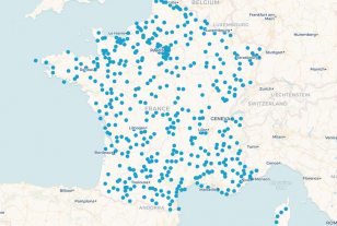 Où sont implantées les premières maisons France Services ?