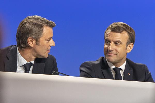 CONGRES-Baroin-Macron
