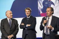 Dominique Bussereau, François Baroin et Renaud Muselier avant la grande pandémie, au congrès des maires 2019.