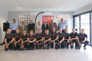 Les pompiers de la Loire et de la Haute-Loire en voie de rapprochement