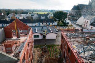 A Saint-Malo-de-Guersac (Loire-Atlantique), 58 logements sont construits sur l'ancien terrain de football.