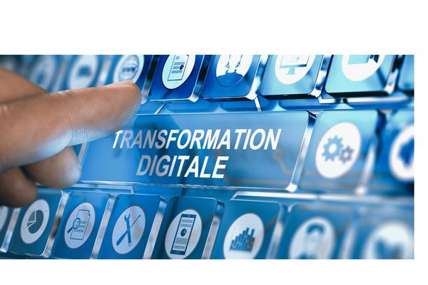 Image Conceptuelle De Transformation Digitale