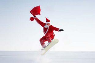 Père Noël sportif