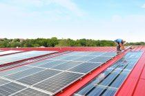 Des panneaux solaires ont été installés à Malaunay lui permettant d'obtenir le label Cit'ergie dès 2015.