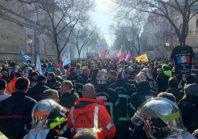 Grève : participation record des territoriaux