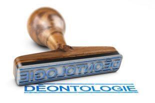 Charte déontologique ou code de déontologie. Ethique professio