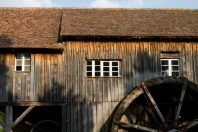 Moulin à eau de l'Ecomusée d'Alsace