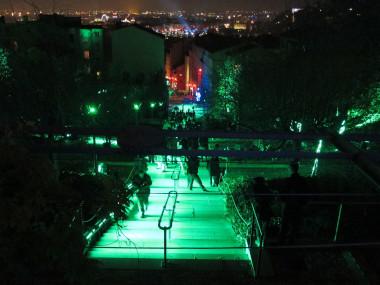 Eclairage nocturne à Lyon