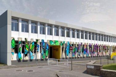 A la rentrée 2020, l'école Aubrac/ l'école Quatre moulins à Brest sera plus économe grâce à des travaux d'isolation par l'extérieur.